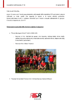 Newsletter RSR – 10 – 13 Marzo 2019
