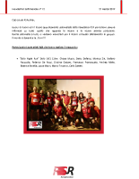 Newsletter RSR – 12 – 27 Marzo 2019