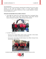 Newsletter RSR – 15 – 16 Aprile 2019
