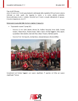 Newsletter RSR – 17 – 30 Aprile 2019