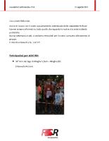 Newsletter RSR – 18 – 21 Agosto 2017