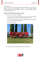 Newsletter RSR – 18 – 7 Maggio 2019