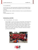 Newsletter RSR – 27 – 23 Ottobre 2017