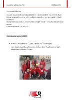 Newsletter RSR – 28 – 30 Ottobre 2017