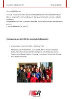 Newsletter RSR – 31 – 20 Novembre 2017