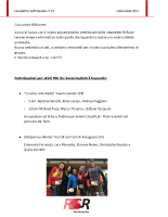 Newsletter RSR – 33 – 05 Dicembre 2017
