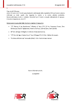 Newsletter RSR – 33 – 20 Agosto 2019