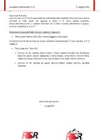 Newsletter RSR – 34 – 27 Agosto 2019