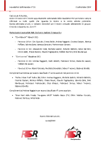 Newsletter RSR – 35 – 03 Settembre 2019