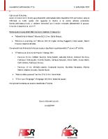 Newsletter RSR – 36 – 11 Settembre 2019