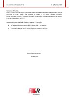 Newsletter RSR – 38 – 25 Settembre 2019