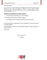 Newsletter RSR – 42 – 23 Ottobre 2019
