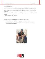 Newsletter RSR – 49 – 03 Aprile 2018