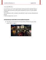 Newsletter RSR – 67 – 6 Agosto 2018