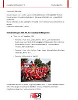 Newsletter RSR – 70 – 5 Settembre 2018