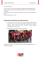 Newsletter RSR – 82 – 4 Dicembre 2018