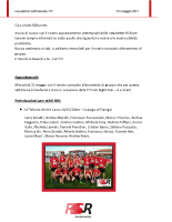 Newsletter RSR – 5 – 22 Maggio 2017