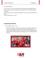 Newsletter RSR – 6 – 29 Maggio 2017